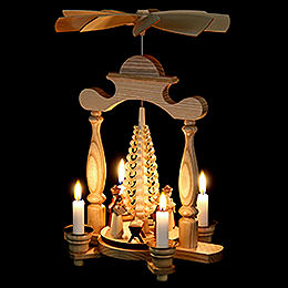 1-Tier Pyramid - Nativity Scene - 32 cm / 13 inch