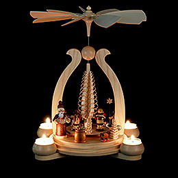 1-Tier - Christmas Pyramid - Giving - 34 cm / 13 inch