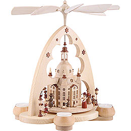 1-Tier Pyramid - Church of Our Lady Dresden - 34 cm / 13 inch