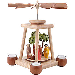 1-Tier Pyramid - Nativity - 34 cm / 13 inch