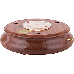 Electronic Bluetooth-powered Music Box Base - 6 cm / 2.4 inch, ø 18 cm / 7.1 inch