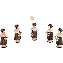 Carolers 5 Figurines - 6,5 cm / 3 inch