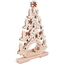 Light Triangle - Fir Tree - Heavenly Musicians - 32x44 cm / 12.6x17.3 inch