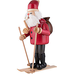 Smoker - Santa Claus with Ski - 52 cm / 20.5 inch