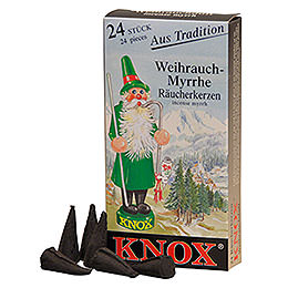 Knox Incense Cones - Mega set - 3x4 boxes with the most famous Knox fragrances