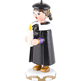 Winter Children Church Singers with Light - 7 cm / 3 inch
