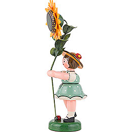 Flower Child with Sunflower - 24 cm / 9,5 inch
