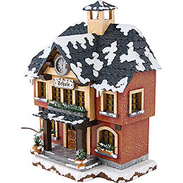 Winter Children School Illuminated - 15 cm / 6 inch