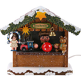 Winter Children Market Booth Gifts House - 10 cm / 4 inch