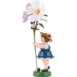 Flower Child with Cosmea - 24 cm / 9,5 inch