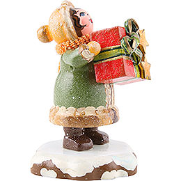 Winter Children Thank You - 5 cm / 2 inch