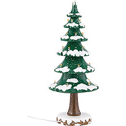 Winter Children Tree with Light - 22 cm / 9 inch
