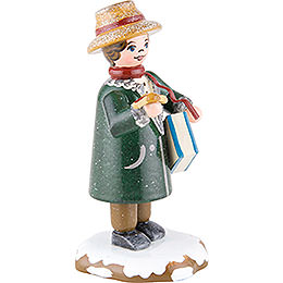 Winter Children Dad Goes Shopping - 8 cm / 3 inch
