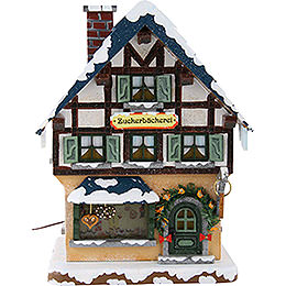 Winter Children Sugar Bakery Illuminated - 15 cm / 6 inch