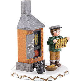 Winter Kids Fish Smoke House -