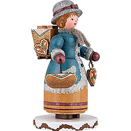 Winter Children Gingerbread Vendor - 20 cm / 7.9 inch