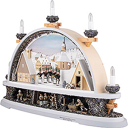 Candle Arch - Mettenschicht - Limited by Klaus Kolbe - 57x40x12,5 cm / 22.5x15.5x5.0 inch