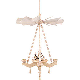 1-Tier Hanging Pyramid Forest People - 65x42 cm / 25.6x16.5 inch