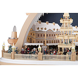 Candle Arch - Christmas Market of Dresden - 2nd Limited Edition - 81x31x52 cm / 32x12x20 inch