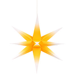 Annaberg Folded Star for Indoor Yellow-White - 58 cm / 22.8 inch