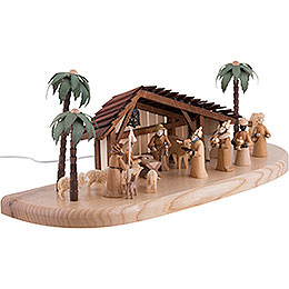 Nativity Set - Electrical 220 V