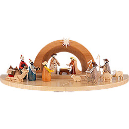Nativity Set - Painted Figurines