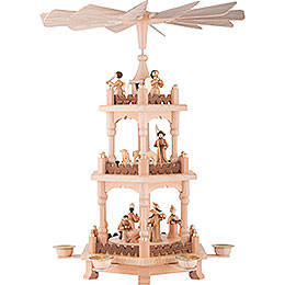 3-Tier Pyramid - Christmas Time - 45 cm / 18 inch