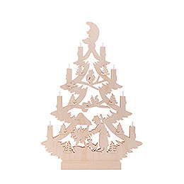 Light Triangle - Christmas Tree - 47x34x5,5 cm / 18x13x2 inch