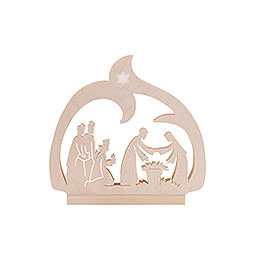 Candle Arch - LED - Nativity - 30x28,5x4,5 cm / 12x11x2 inch