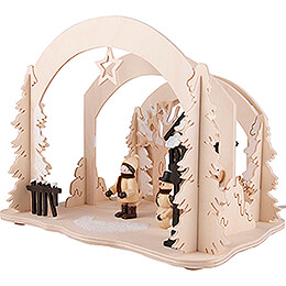 Motive Light - Diorama Winter Delights - 19 cm / 7.5 inch