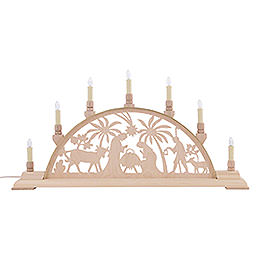 Candle Arch - Nativity Scene - 63x32 cm / 25x13 inch