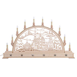 Candle Arch - Zwickau with Base - 78x45 cm / 31x18 inch