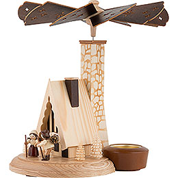 1-Tier Smoking Pyramid - Forest Lodge - 26 cm / 10 inch