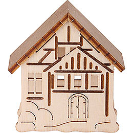 Additional Houses, Set of Three - 5,5x5 cm / 2.2x2 inch