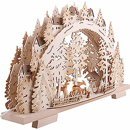 Candle Arch - Forest Scenery - 72x41x13 cm / 28.3x16.1x5.1 inch