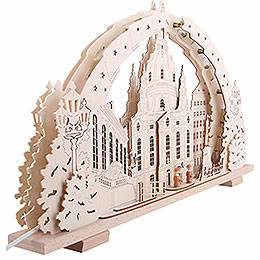 Candle Arch - Dresden Church of Our Lady - 72x41x7 cm / 28x16x2.8 inch