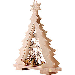 Light Triangle - Fir Tree 'A Walk in the Woods' LED - 32x43x7,5 cm / 12.6x17x3 inch