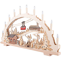 Candle Arch - Fichtelberg - 70x42 cm / 27.6x16.5 inch