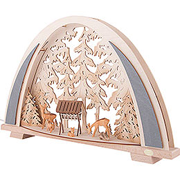 Candle Arch - NEW LINE - Forest Idyll - 53x31 cm / 20.9x12.2 inch