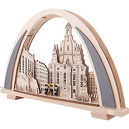 Candle Arch - NEW LINE - Dresden Church - 53x31 cm / 20.9x12.2 inch