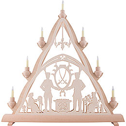 3D Light Triangle - Schneeberg - 50x55 cm / 20x22 inch