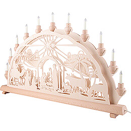 Candle Arch - Holy Night - 68x35 cm / 26.8x13.8 inch