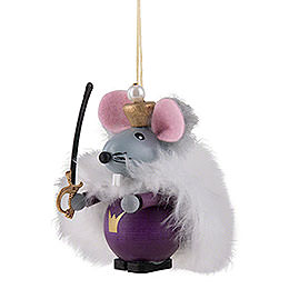 Tree Ornament - Mouse King - 9 cm / 3.5 inch