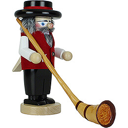 Nutcracker - Alphorn Player - 30 cm / 11.8 inch