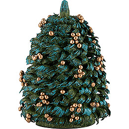 Christmas Tree with Golden Balls - 6 cm / 2.4 inch