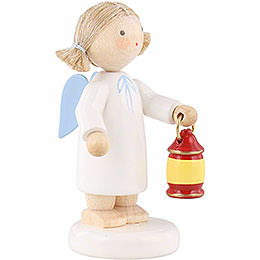 Flax Haired Angel with Lantern - 5 cm / 2 inch