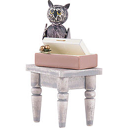Table with Owl Rosalie - 5 cm / 2 inch
