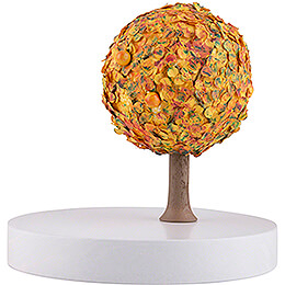 Apple Tree Platform - without Figurines - Autumn - 13 cm / 5.1 inch
