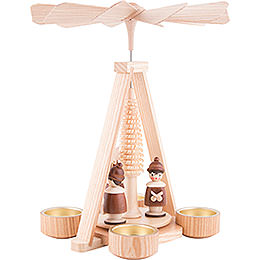 1-Tier Pyramid - Carolers - 25 cm / 9.8 inch