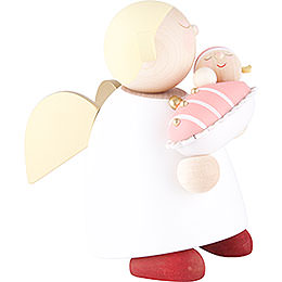 Guardian Angel with Baby Girl - 16 cm / 6.3 inch